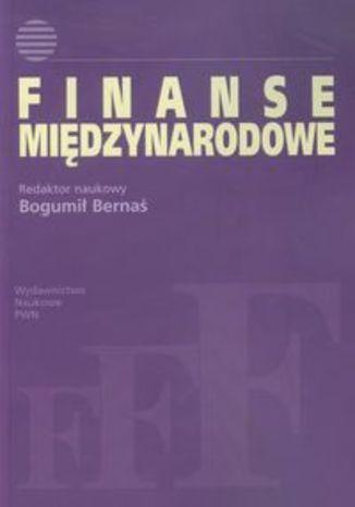 Okładka książki/ebooka Finanse międzynarodowe