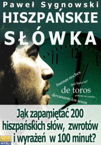 Okładka książki/ebooka Hiszpańskie słówka