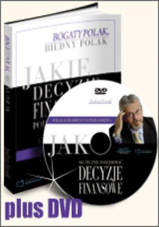 Okładka książki/ebooka [Edycja DVD] Jakie decyzje finansowe podejmują bogaci i dlaczego biedni robią błędy, działając inaczej