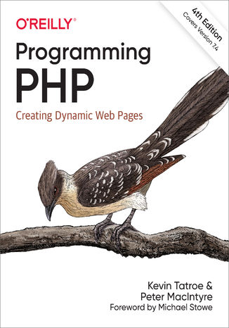 Okładka książki/ebooka Programming PHP. Creating Dynamic Web Pages. 4th Edition