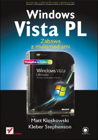 Okładka książki/ebooka Windows Vista PL. Zabawa z multimediami