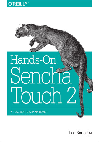 Okładka książki/ebooka Hands-On Sencha Touch 2. A Real-World App Approach