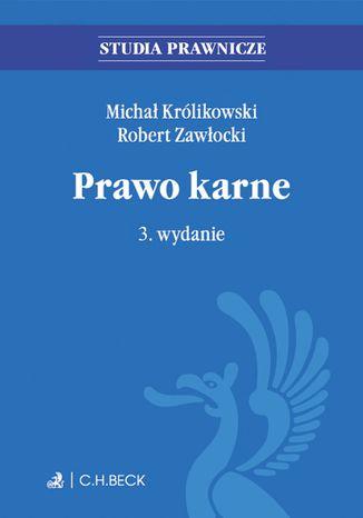 Okładka książki/ebooka Prawo karne. Wydanie 3
