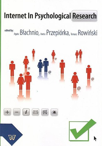 Okładka książki/ebooka Internet In Psychological Research