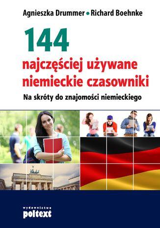 Okładka książki/ebooka 144 najczęściej używane niemieckie czasowniki