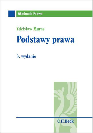 Okładka książki/ebooka Podstawy prawa. Wydanie 3