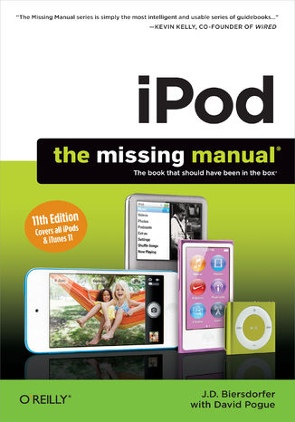 Okładka książki/ebooka iPod: The Missing Manual. 11th Edition