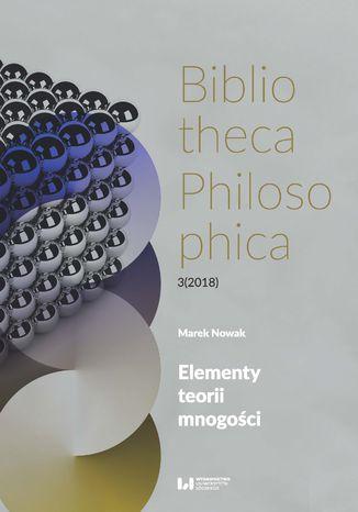 Okładka książki/ebooka Elementy teorii mnogości