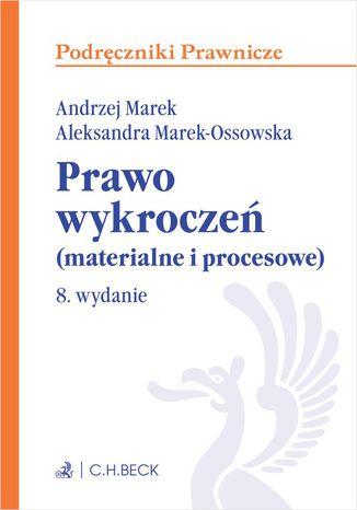 Okładka książki/ebooka Prawo wykroczeń (materialne i procesowe). Wydanie 8