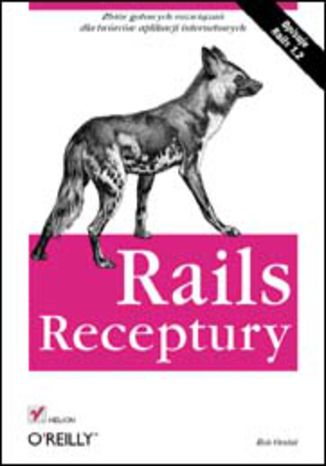 Okładka książki/ebooka Rails. Receptury