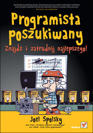 Okładka książki/ebooka Programista poszukiwany. Znajdź i zatrudnij najlepszego!