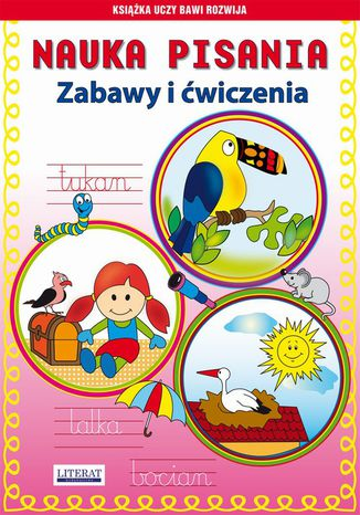 Okładka książki/ebooka Nauka pisania Zabawy i ćwiczenia