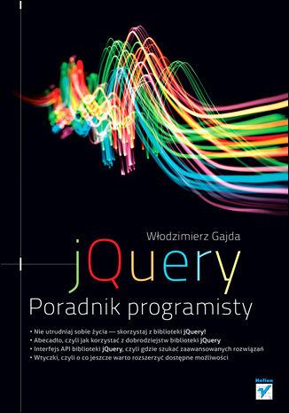 Okładka książki/ebooka jQuery. Poradnik programisty