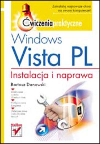 Okładka książki/ebooka Windows Vista PL. Instalacja i naprawa. Ćwiczenia praktyczne