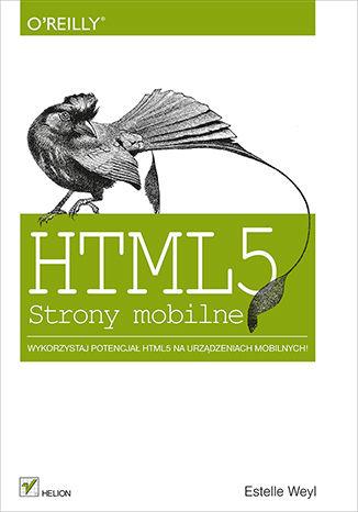 Okładka książki/ebooka HTML5. Strony mobilne