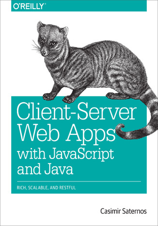 Okładka książki/ebooka Client-Server Web Apps with JavaScript and Java