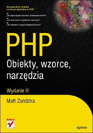 Okładka książki/ebooka PHP. Obiekty, wzorce, narzędzia. Wydanie III