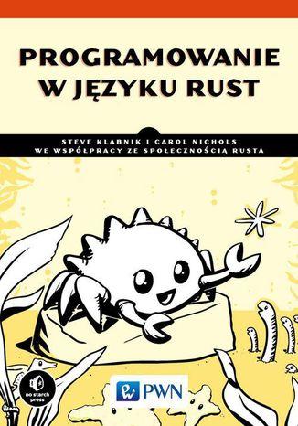 Okładka książki/ebooka Programowanie w języku Rust