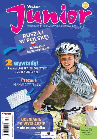 Okładka książki/ebooka Victor Junior nr 12 (362) 14 czerwca 2018