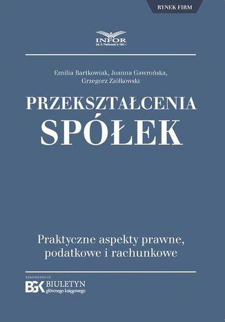 Okładka książki/ebooka Przekształcenia spółek