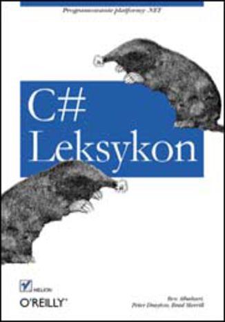 Okładka książki/ebooka C#. Leksykon