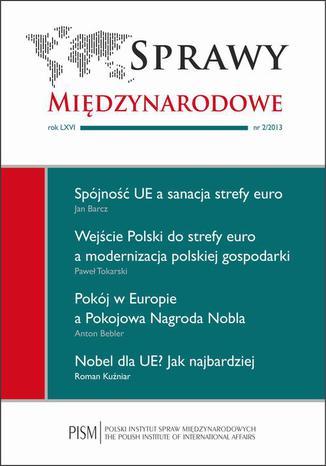Okładka książki/ebooka Sprawy Międzynarodowe nr 2/2013