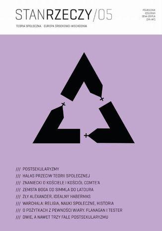 Okładka książki/ebooka Stan Rzeczy 2013/2 (5). Teoria społeczna. Europa Środkowo-Wschodnia