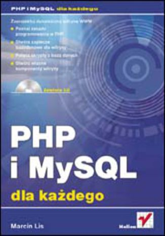 Okładka książki/ebooka PHP i MySQL. Dla każdego
