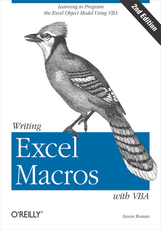 Okładka książki/ebooka Writing Excel Macros with VBA. 2nd Edition