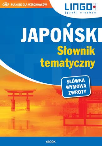 Okładka książki/ebooka Japoński. Słownik tematyczny