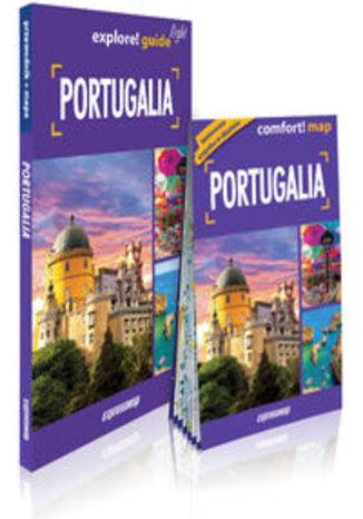 Okładka książki/ebooka Portugalia light przewodnik + mapa