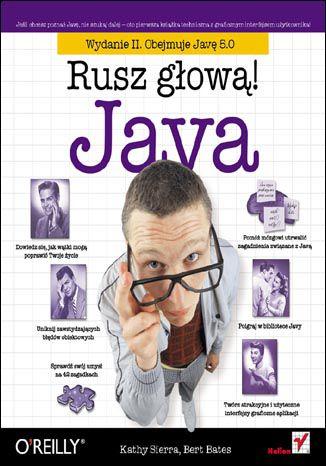 Okładka książki Java. Rusz głową! Wydanie II