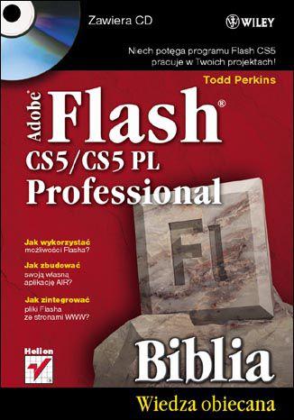 Okładka książki/ebooka Adobe Flash CS5/CS5 PL Professional. Biblia