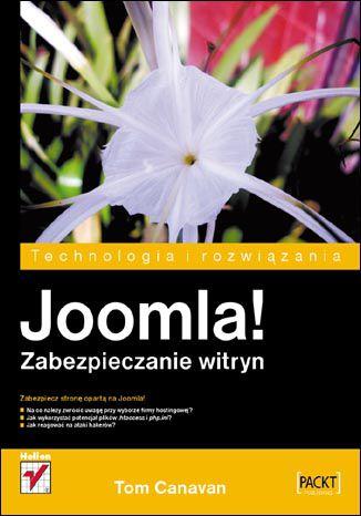 Okładka książki/ebooka Joomla! Zabezpieczanie witryn