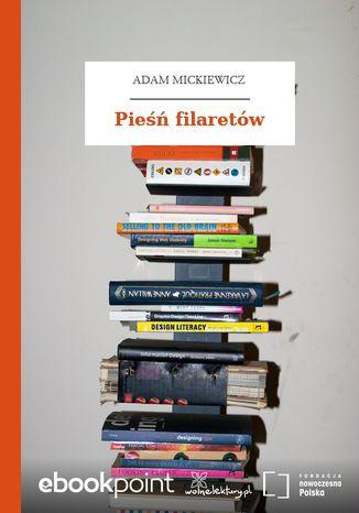 Okładka książki/ebooka Pieśń filaretów