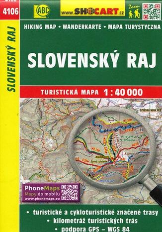Okładka książki/ebooka Slovenský Ráj, 1:40 000