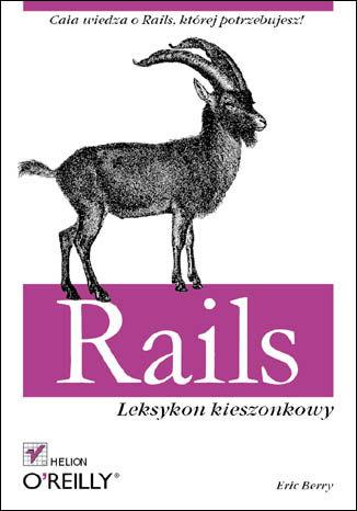 Okładka książki/ebooka Rails. Leksykon kieszonkowy