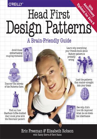 Okładka książki/ebooka Head First Design Patterns. A Brain-Friendly Guide