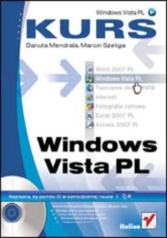Okładka książki Windows Vista PL. Kurs