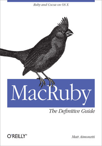 Okładka książki/ebooka MacRuby: The Definitive Guide. Ruby and Cocoa on OS X