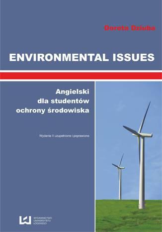 Okładka książki/ebooka Environmental Issues. Angielski dla studentów ochrony środowiska