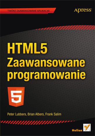 Okładka książki/ebooka HTML5. Zaawansowane programowanie