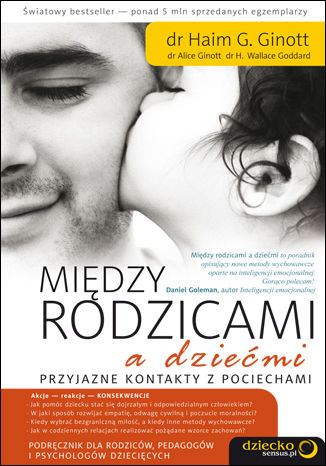 Okładka książki/ebooka Między rodzicami a dziećmi. Przyjazne kontakty z pociechami