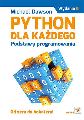 Okładka książki/ebooka Python dla każdego. Podstawy programowania. Wydanie III