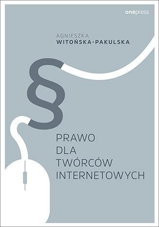 Okładka książki/ebooka Prawo dla twórców internetowych