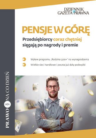 Okładka książki/ebooka Pensje w górę Przedsiębiorcy coraz chętniej sięgają po nagrody i premie
