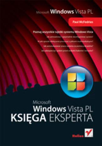 Okładka książki/ebooka Windows Vista PL. Księga eksperta