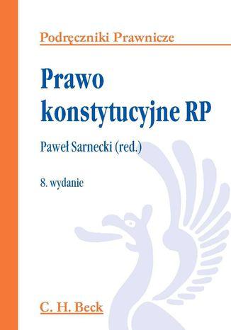 Okładka książki/ebooka Prawo konstytucyjne RP