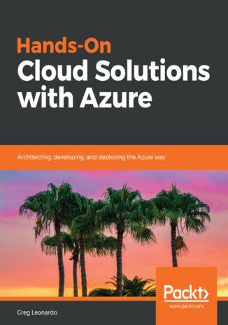 Okładka książki/ebooka Hands-On Cloud Solutions with Azure