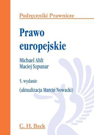 Okładka książki/ebooka Prawo europejskie